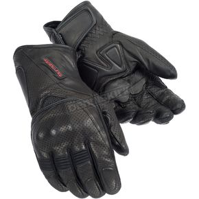 Tour Master Black Dri-Perf Gel Gloves - 8413-0105-05