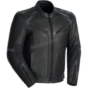 Tour Master Black Element Cooling Leather Jacket - 8723-0105-08