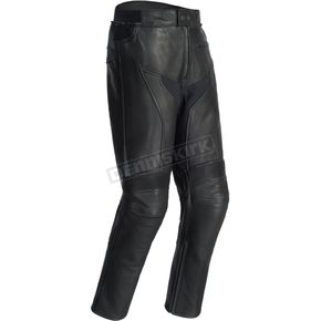 Tour Master Black Element Cooling Leather Pants - 8724-0105-08