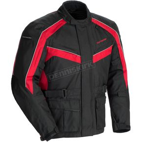 Tour Master Black/Red Saber 4.0 Textile 3/4 Jacket - 8774-0401-07