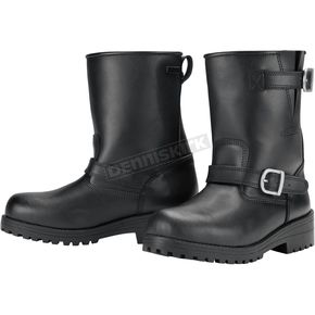 Tour Master Black Vintage 2.0 Waterproof Boots - 8604-0205-46