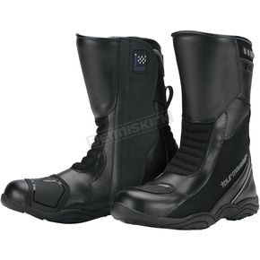 Tour Master Black Solution Waterproof Air Boots - 8605-0105-41