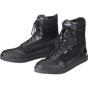 Cortech Black Vice Waterproof Riding Shoes - 8514-6535-43