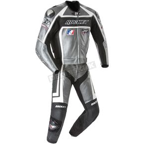 Joe Rocket Gun Metal/Black Speedmaster Two-Piece Suit - 1052-0650