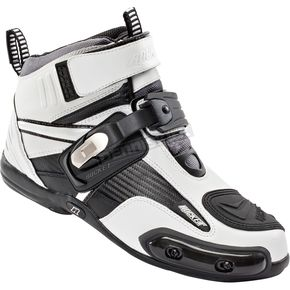 Joe Rocket White/Black Atomic Boots - 1387-2009