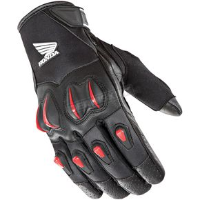 Joe Rocket Black/Red Cyntek Honda Gloves - 1508-1102