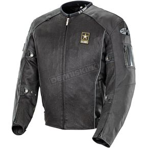 Joe Rocket Black U.S. Army Recon Mesh Jacket - 1546-3006
