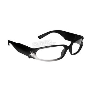 Dennis Kirk Inc. Lighted Safety Glasses - LIGHTED SGLSS