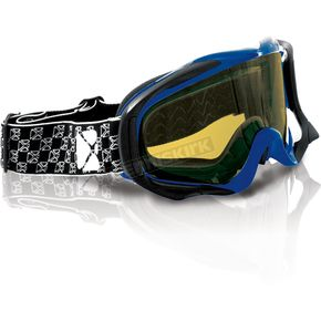 CKX Blue/Black YH-18DL Goggles - 120015