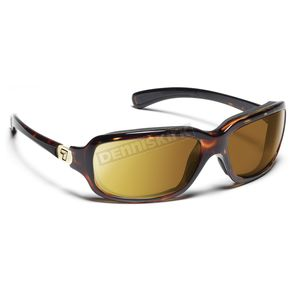 7EYE Black Tortoise ColorAmp Copper NXT Marin Sunglasses  - 435521