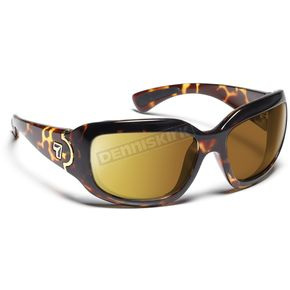 7EYE Light Tortoise ColorAmp Copper NXT Leveche Sunglasses  - 446021