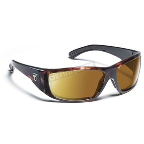 7EYE Dark Tortoise ColorAmp Copper NXT Maestro Sunglasses  - 590621