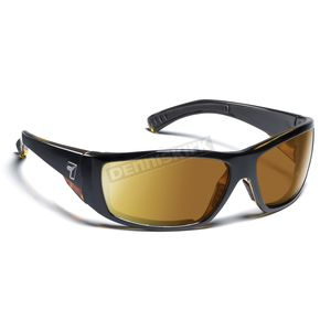 7EYE Black Tortoise ColorAmp Copper NXT Maestro Sunglasses  - 595521