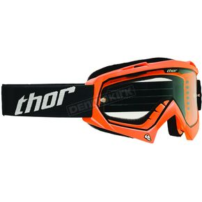 Thor Fluorescent Orange Enemy Goggles - 2601-1735