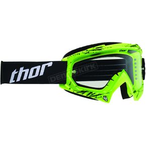 Thor Youth Green Splatter Enemy Goggles - 2601-1739