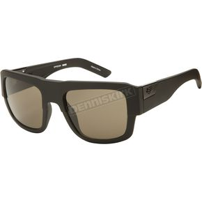 Fox Matte Black/Warm Grey Decorum Sunglasses - 06309-902-OS