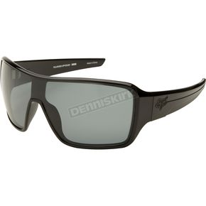 Fox Polished Black/Grey Polarized Super Duncan - 06316-901-OS