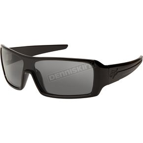 Fox Polished Black/Grey Polarized Duncan Sunglasses - 06318-901-OS