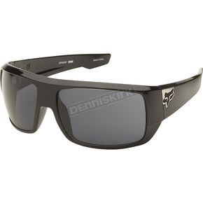 Fox Polished Black/Grey Redeem Sunglasses - 06319-901-OS