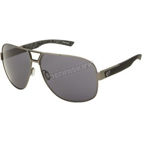 Fox Satin Gunmetal Valkari/Grey The Moter Sunglasses - 06327-904-OS