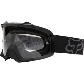 Fox Matte Black Air Space Goggles - 06333-901-OS