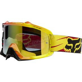Fox Tracer Yellow AIRSPC Goggle - 06334-905-OS