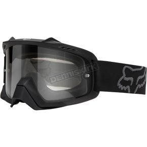 Fox Matte Black/Clear Air Space Enduro Dual Lens Goggle - 09951-901-OS