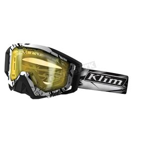 Klim Radius Pro Mountain Goggles w/Yellow Tint Double Lens (Non-Current) - 7000-001