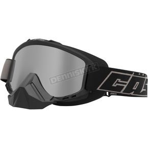 Castle X Matte Black Force Snow Goggles w/Mirrored Dual Lens - 64-1502