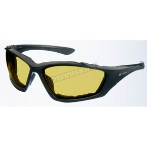 Black Performance C-23 Sunglasses w/Night  Driving Lens - C-23BK/ND