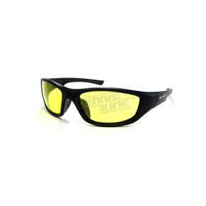Chapel Black Safety C-125 Sunglasses w/Night Driving Lens - C-125BK/ND