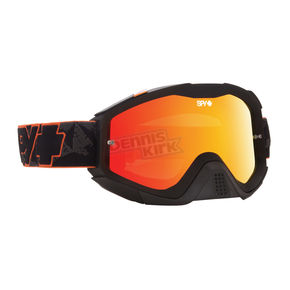 Spy Optic Orange Highlighter Klutch MX Goggles w/Smoke/Red Spectra Lens - 322017855856