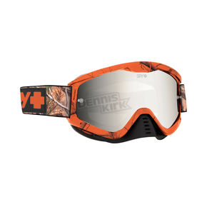 Spy Optic Spy + Realtree Whip MX Goggles w/Smoke/Silver Mirror Lens - 320791986212