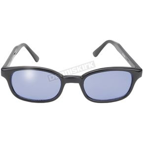 KDs The Original KDs Sunglasses Black w/Blue Lens - 2012