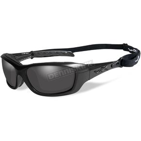 Wiley X Matte Black Gravity Climate Control Sunglasses W/Gray Lens - CCGRA01