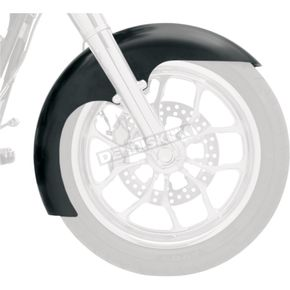 Klock Werks 21 in. Raw Level Tire Hugger Series Front Fender with Raw Blocks - 1402-0311