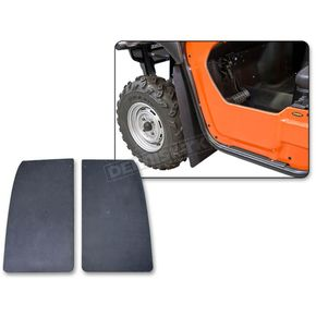 Black Front Mud Flaps - 190280