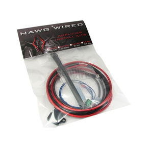 Hawg Wired CS & RS Series Amplifier Installation Wiring Kit for Harley Davidson - WX400
