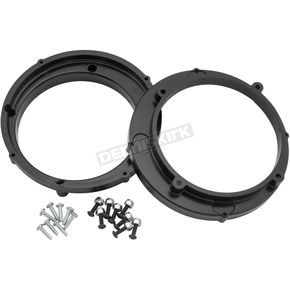 Hawg Wired Black 6.5 in. Speaker Adapter Rings - 049964
