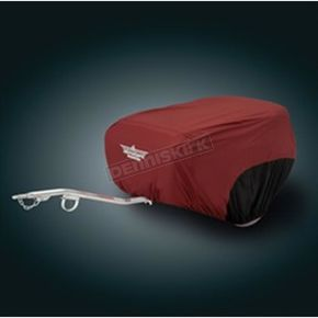 Show Chrome Cranberry/Black Trailer Cover - 4-491AB