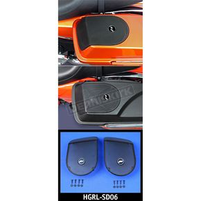 J&M Corporation Saddlebag Lid Speaker Grill Set - HGRL-SD06