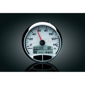 Medallion Racing White Premium 5 in. Console Gauge Kit - 8960-00155-01