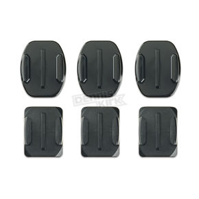GoPro Flat and Curved Adhesive Mounts - AACFT-001