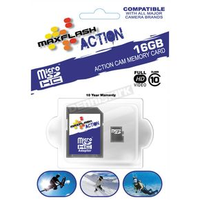 Maxflash Action 16 Gb Micro-SDHC Class 10 Memory Card - 16 GB SDHC MICRO