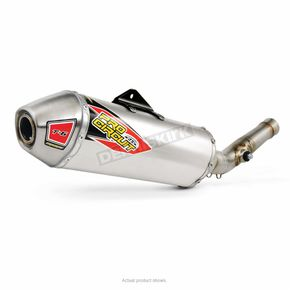 Pro Circuit Stainless T-6 Slip-On w/Removable Spark Arrestor - 0121445A