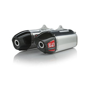 Yoshimura RS-9 Signature Series Dual Exhaust System - 225820H320