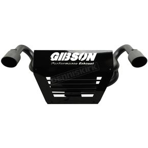 Gibson Black Ceramic Dual Slip-On Mufflers - 98015