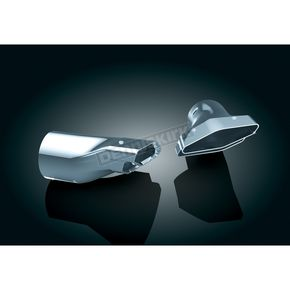 Kuryakyn Polygon Integrated Exhaust Tips - 7608