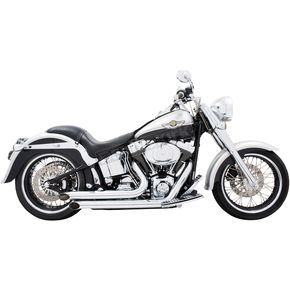 Chrome Declaration Exhaust System - HD00034