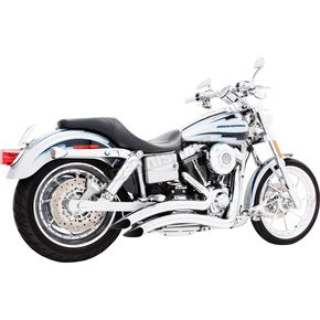 Freedom Performance Chrome Sharp Curve Radius Exhaust System - HD00258